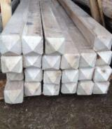 Hardwood  Logs For Sale Romania - -- cm Oak (European)  Conical Shaped Round Wood in Romania
