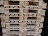 Wood Pallets - Pallets 1200x1000 mm