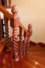 Woodturnings - Turned Wood - Baluster from hardwood for stairs