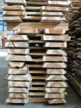 Hardwood  Unedged Timber - Flitches - Boules Germany - Boules, Teak, FSC