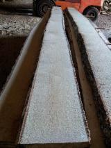 Hardwood  Unedged Timber - Flitches - Boules Lithuania - Birch sawn timber high quality