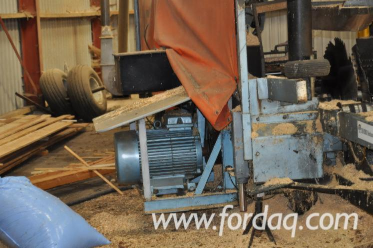 Used-circular-sawmill-Laimet-120-for
