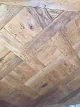 Solid Wood Flooring For Sale - 22 mm Oak (Sawtooth Oak) Parquet Tongue & Groove from Romania, Arad