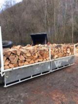 Firelogs - Pellets - Chips - Dust – Edgings - Beech (Europe) Firewood/Woodlogs Cleaved -- mm