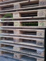 Pallets – Packaging All Species - USED EPAL pallets made in EU