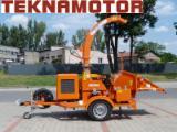 Echipamente Pentru Silvicultura Si Exploatarea Lemnului Publicati oferta - Maşina de tocat lemn Skorpion 280 SDBG - cu tambur
