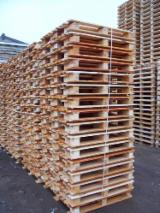 Wood New Spruce Picea Abies - Whitewood Demands - CP1/CP3 Pallets