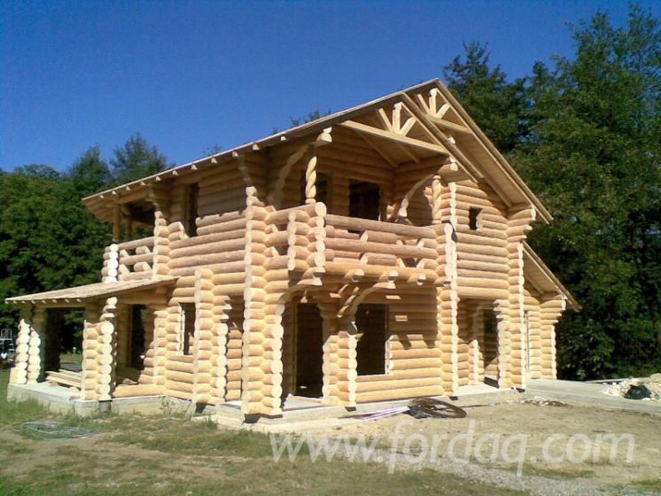 Case Di Tronchi Canadesi : Case in tronchi di legno canadesi casa di tronchi canadese sitka