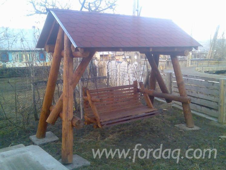Vender Jogos Infantis - Balanços Madeira Macia Européia Roménia