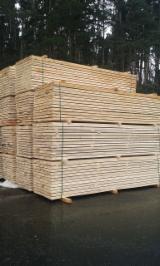 Nadelschnittholz, Besäumtes Holz Seekiefer - Nadelholz