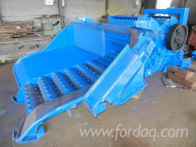 Used-shredder-Bruks-600CT-for