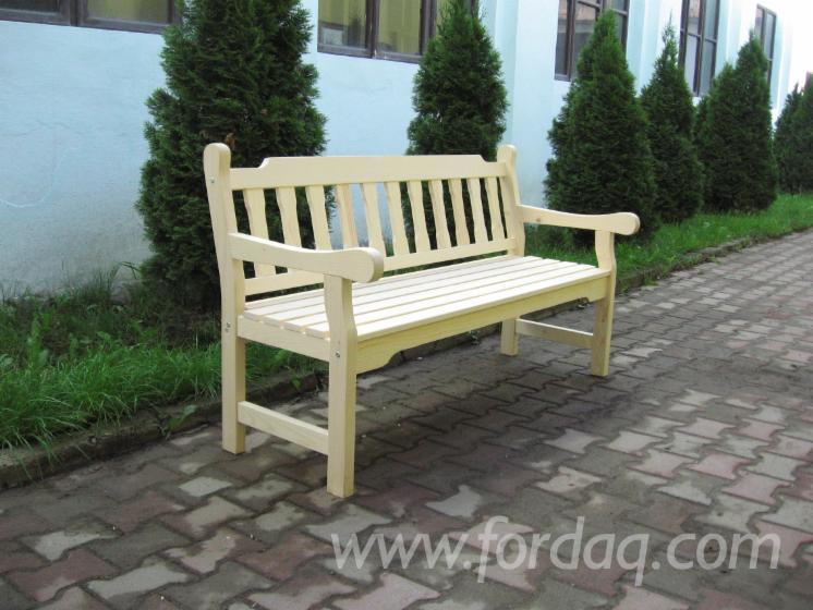 Vend ensemble de jardin contemporain bois massif for Ensemble de jardin bois