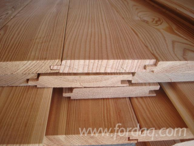 Larch PEFC/FFC Exterior Cladding from Germany, Alpen
