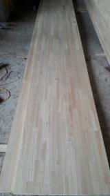 Discontinuous Stave  Solid Wood Panels - Rubber wood finger joined boards