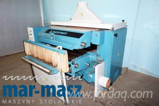 Used-1986-TOS-SVITAVY-Construction-Timber-Planer-in