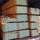 Softwood  Sawn Timber - Lumber Beams - -- mm Kiln Dry (KD) Fir , Spruce  Beams from Romania, Brasov