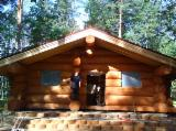Buy Or Sell  Square Milled Log House - We make houses and baths of Siberian Cedar
