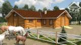 B2B Log Homes For Sale - Buy And Sell Log Houses On Fordaq - Wood stable offer