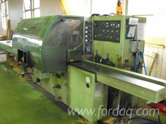 Used-SCM-Superset-23-1995-Moulding-Machines-For-Three--And-Four-side-Machining-For-Sale