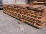 Softwood  Unedged Timber - Flitches - Boules - Kiln dried, not edged boards of Siberian larch