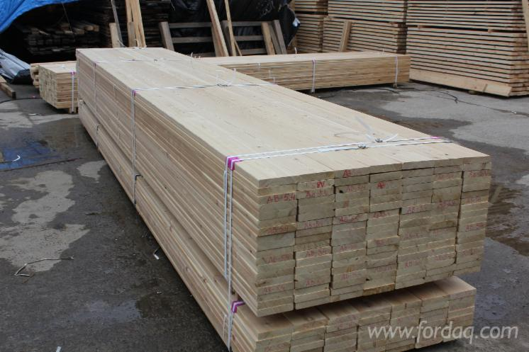 Siberian larch exterior decking e2e 20 27 45 mm thick for Timber decking thickness