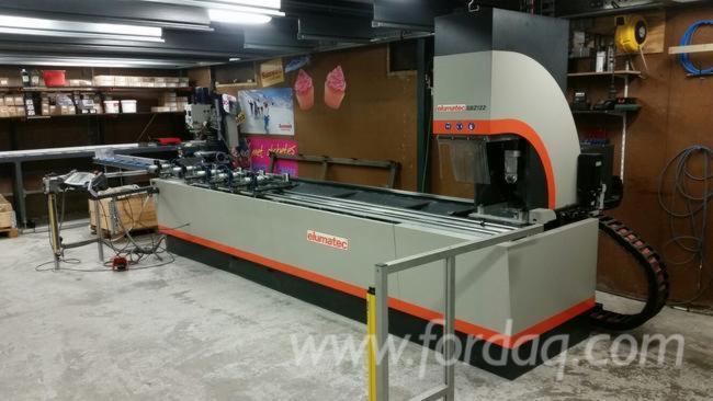 Used-Elumatec-bar-processing-center-for