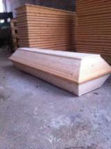 Coffins Finished Products - Fir  Coffins Romania