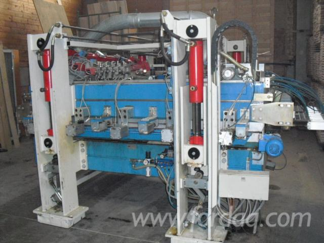 Used-1996-WILD-Optima-Laminated-Wood-Press-in