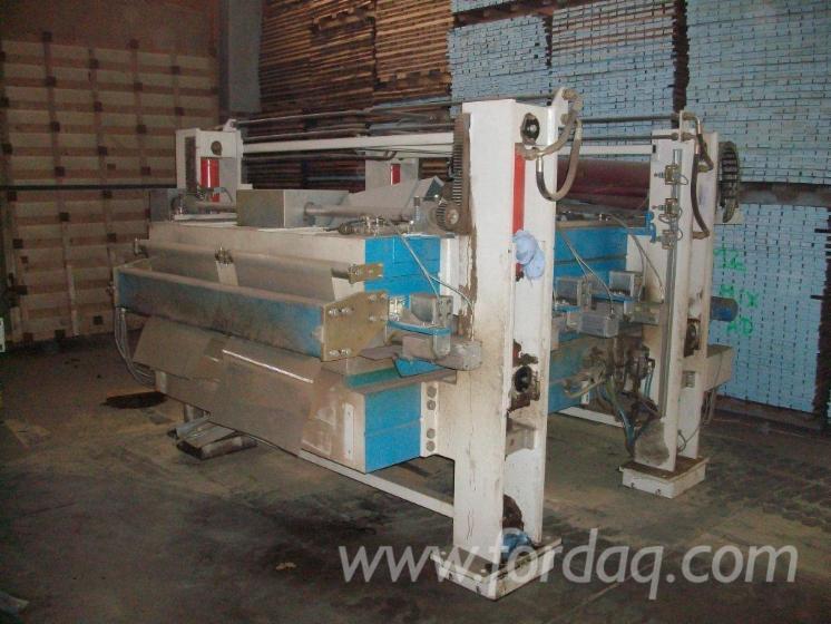 Used wild optima 1996 laminated wood press for sale germany for Laminated wood for sale