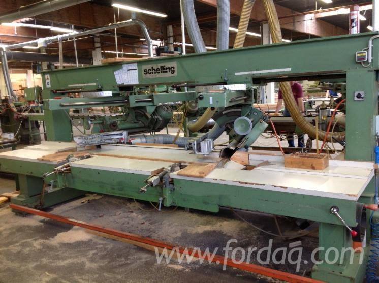 Used-Schelling-DAK-1978-Double-And-Multi-Blade-Saws-For-Sale
