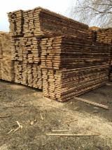 Softwood  Unedged Timber - Flitches - Boules - Spruce (Picea Abies) - Whitewood Boules 25+ mm Romania