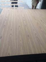 EV crown cut teak MDF 3.6; 5.2; 12; 15; 18; 21mm