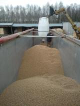Wood pellets bulk, big bags or 20 kg bags , ash 1,5%