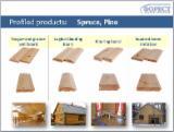 Sell coniferous wood panels
