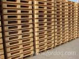 Wood Pallets - Pallets 1200x1000 mm