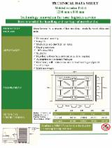 Pallets – Packaging - Moulded Pallet Block, New