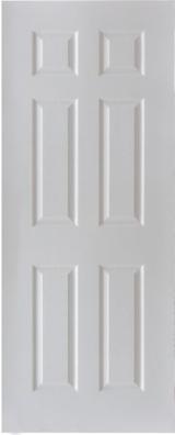 White Primer HDF Door Skin
