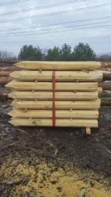 Buy Or Sell Hardwood Cylindrical Trimmed Round Wood Acacia - Cylindrical trimmed round wood, Acacia