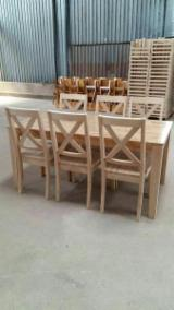 Rubberwood Contract Furniture - Restaurant Dining Set