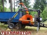 Forstmaschinen Trommelhacker - Holzhacker Skorpion 350 RBP - Teknamotor
