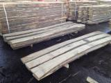 Hardwood  Unedged Timber - Flitches - Boules - Selling White OAK Lumbers