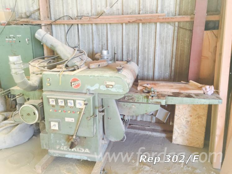 Used-MIDA-P4E-1980-Construction-Timber-Planer-For-Sale