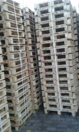 Wood Pallets - Pallets 600x800 mm
