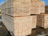 Hardwood  Sawn Timber - Lumber - Planed Timber - Plank boards, beams for pallets and boxes, construction wood.