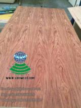 Natural and EV bubinga veneered MDF