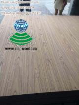EV crown cut and quarter cut teak veneered MDF