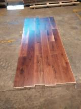 Engineered Wood Flooring - Multilayered Wood Flooring Walnut American Black - Walnut engineered flooring 18/4x191x1870mm