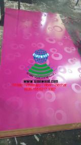 Bubble design melamine MDF board for Middle East