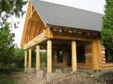 Wood Houses - Precut Timber Framing Pine Pinus Sylvestris - Redwood For Sale - Handcrafted log houses