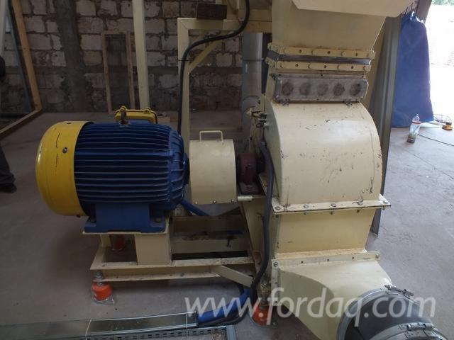 Impianti completi per la produzione di pellet di legno for Impianto produzione pellet usato